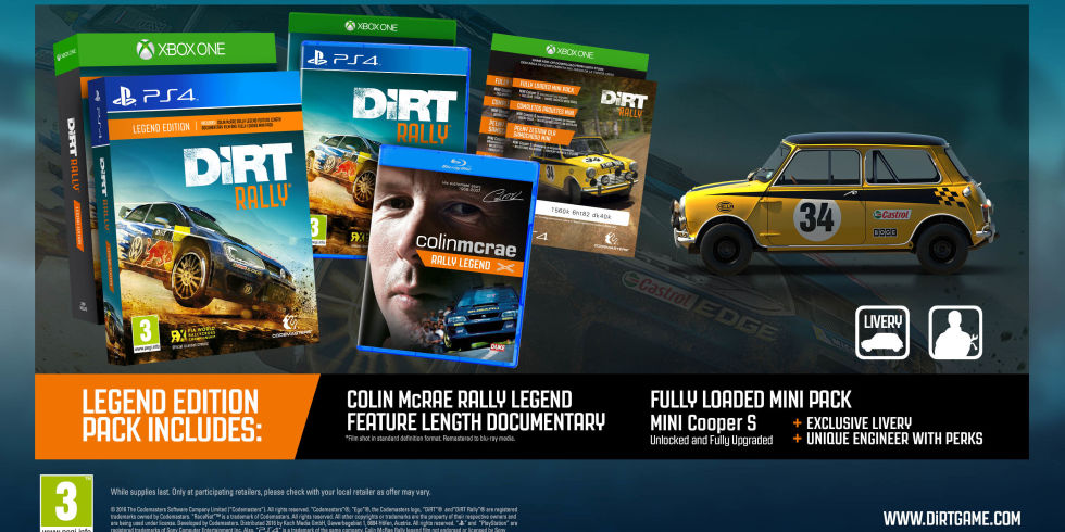Walmart] DiRT Rally (Legend Edition) PS4 / Xbox One - $59 99 - Page