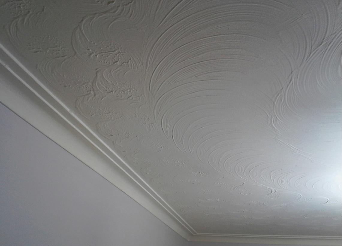 removing artex ceiling finish did anybody try this. Black Bedroom Furniture Sets. Home Design Ideas