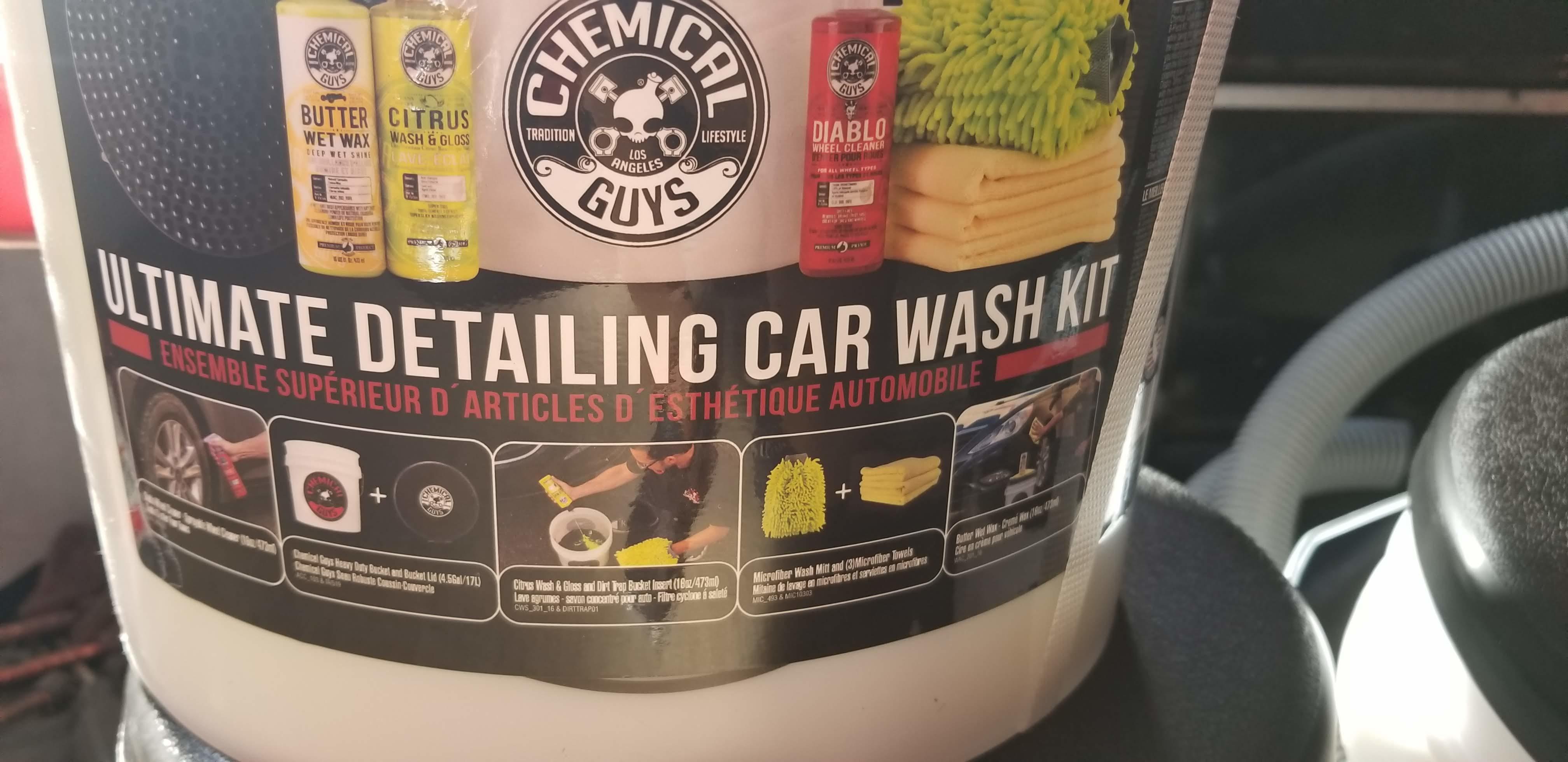 Home Depot Chemical Guys 10piece Bucket Kit 49 99 Redflagdeals
