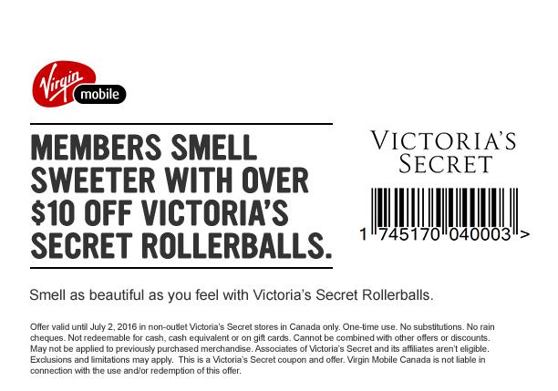 Victoria Secret] Any Bras = $40 (Virgin Mobile customers