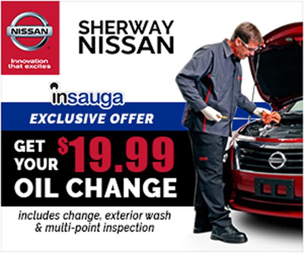 19 99 Oil Change >> Sherway Nisssan Sherway Nissan Mississauga 19 99 Oil