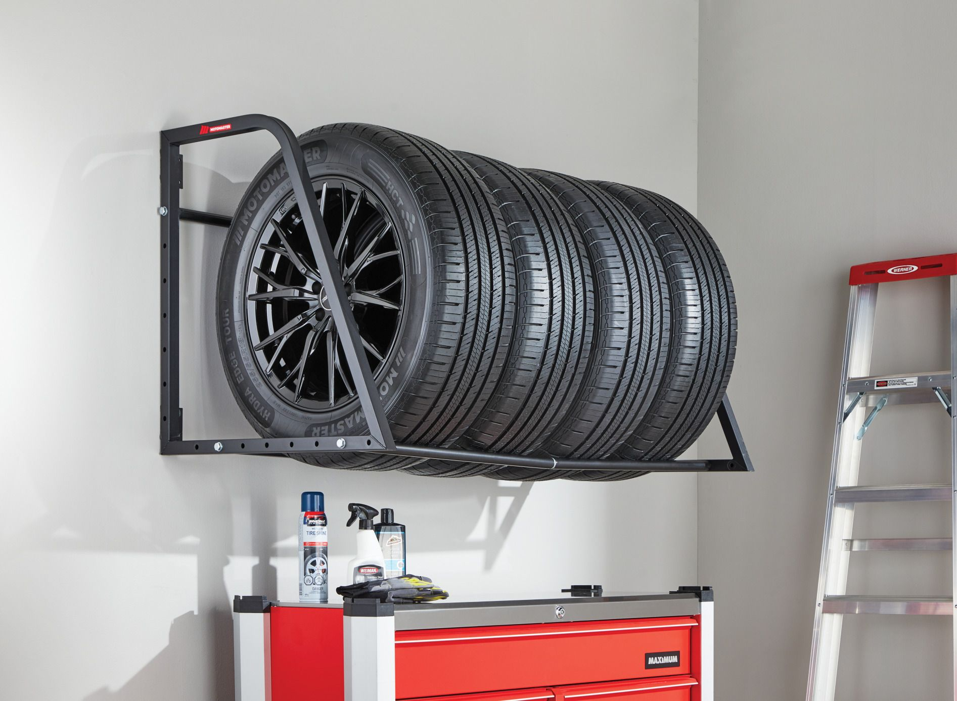 How do you store your mounted wheels and tires? - page 2 - r.