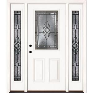 white front door with sidelights. Front Door With Sidelights - What To Do For Privacy? White S