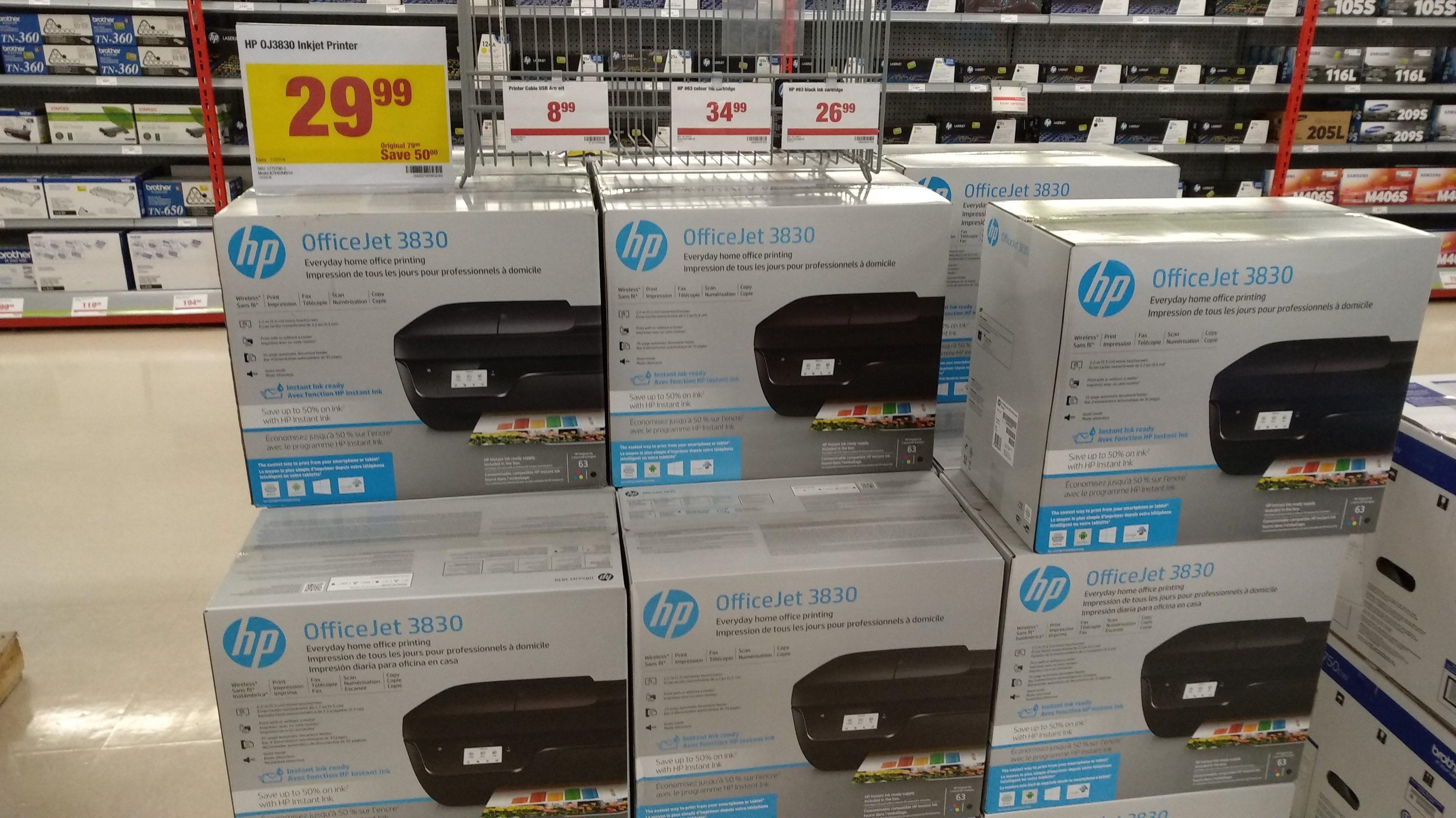 Staples/TheSource/WM/BB/Costco] HP DeskJet wireless 3-in-One