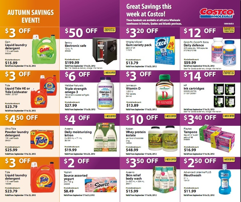 Costco Costco East Deals Sep 17 23 Weekly Flyer Redflagdeals Com Forums