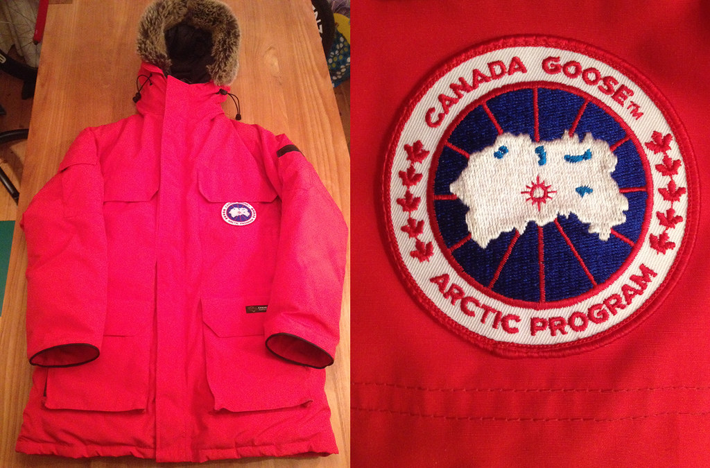 canada goose vest real vs fake