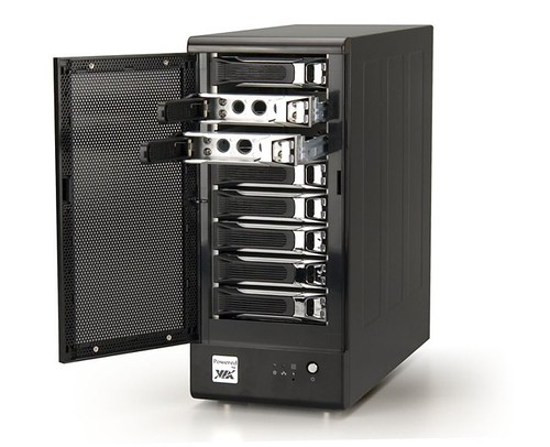 Nsd7800 Network Storage Server Supports Eight Sata Trays