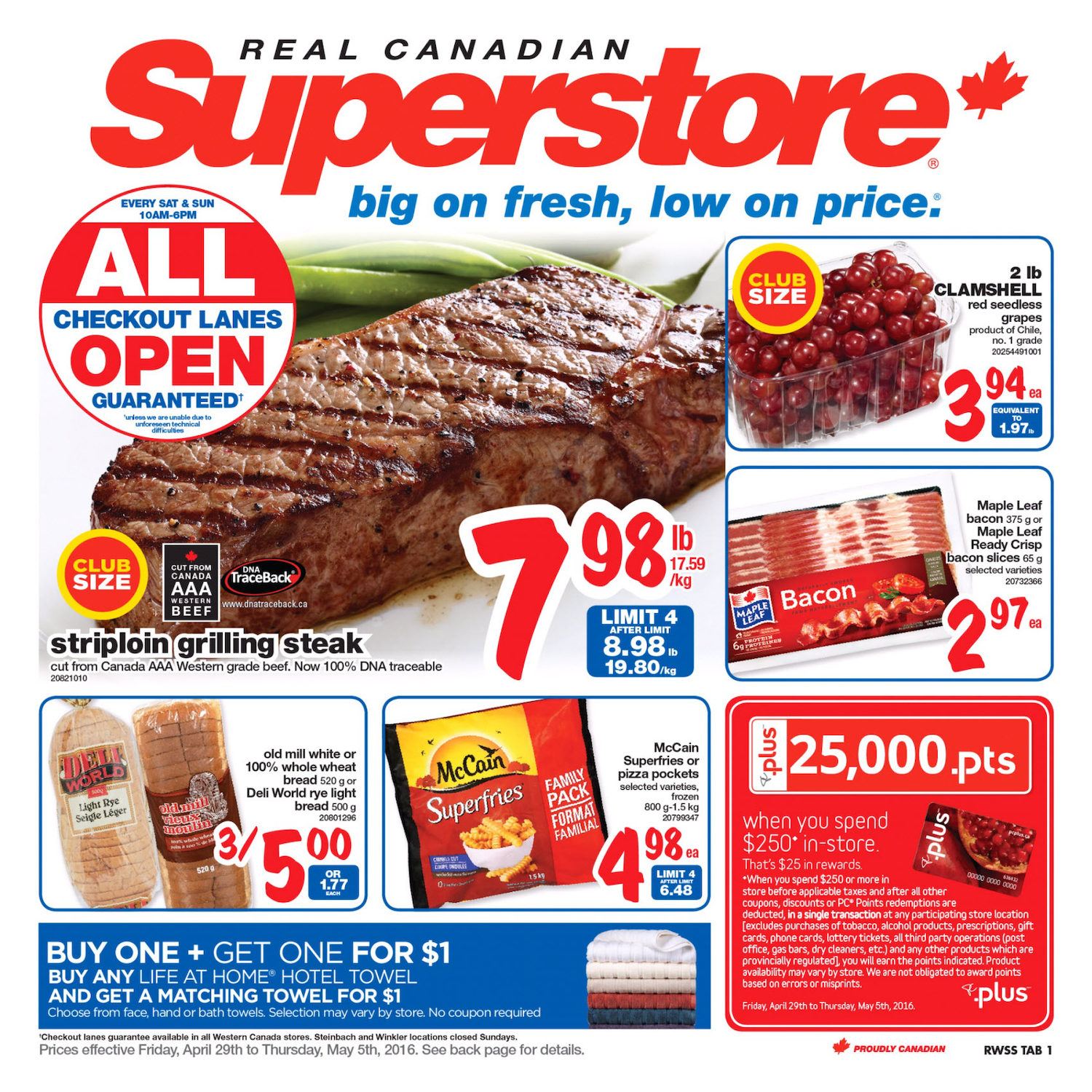 Real Canadian Superstore Price Match Policy