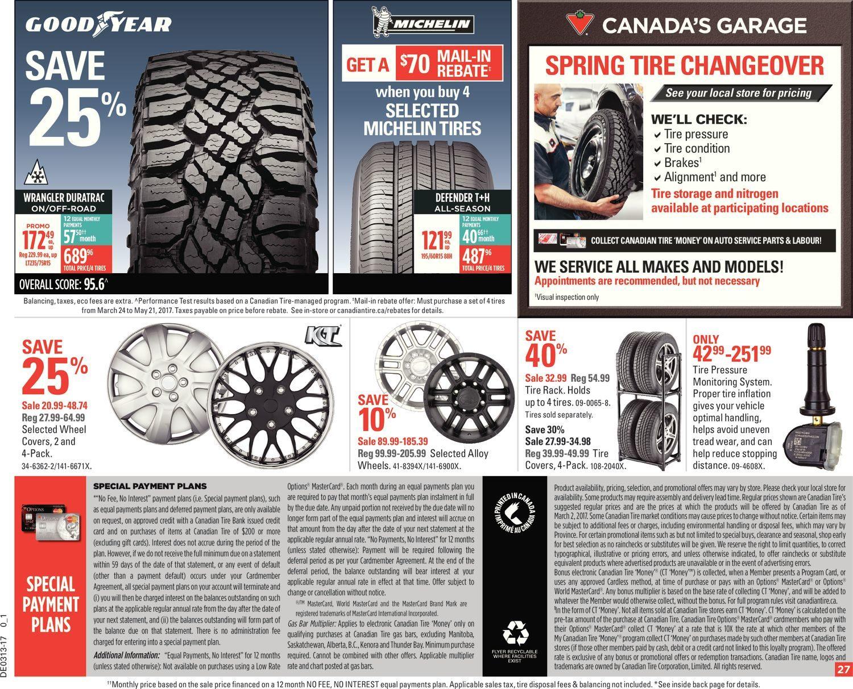 canadian tire marketing plan essay