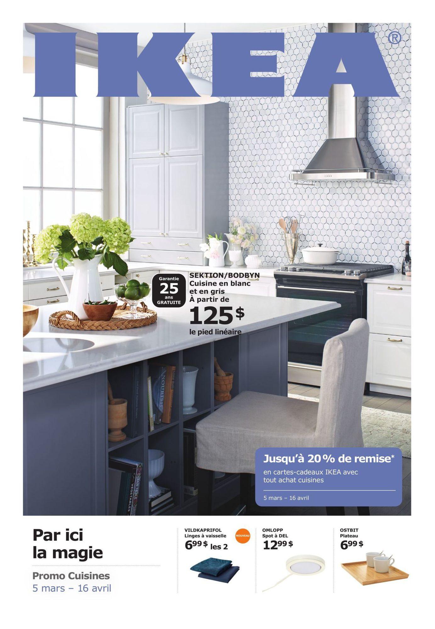 Promo Cuisines Ikea 5 Mars 2018 Pj Shopwise