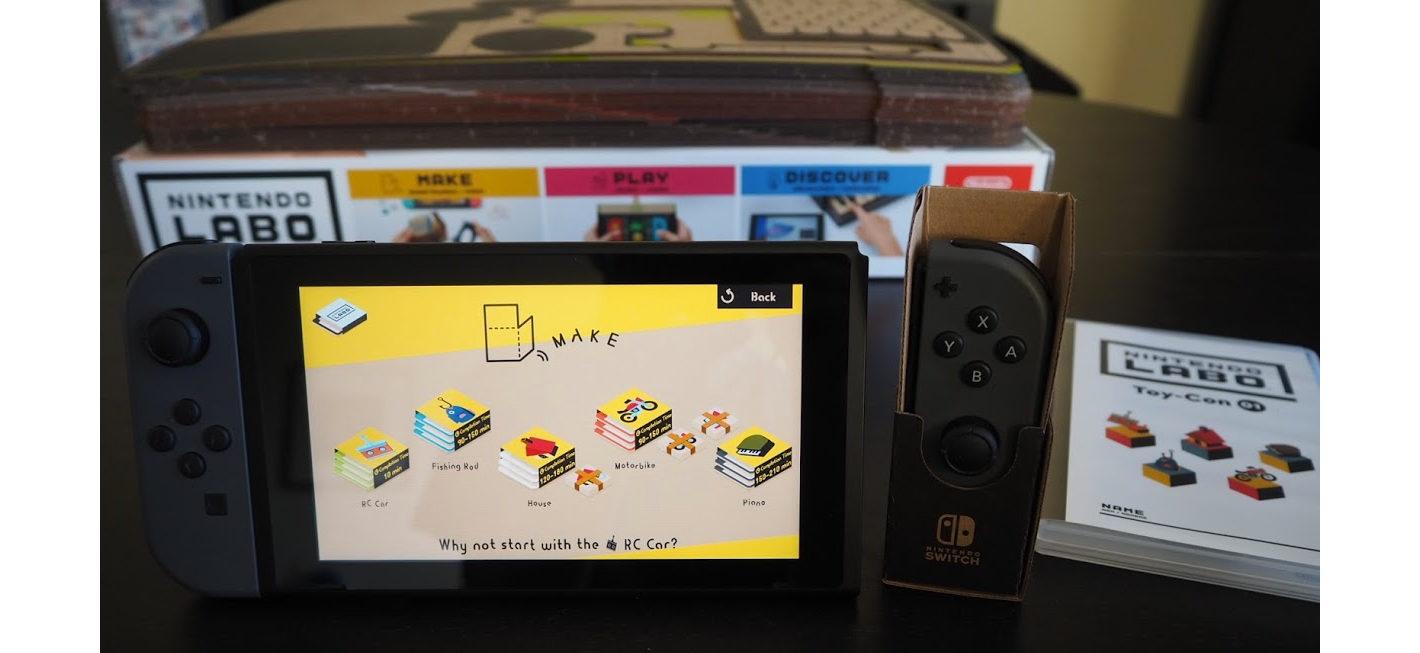 Nintendo Labo Variety Kit Review: An Imaginative Fun