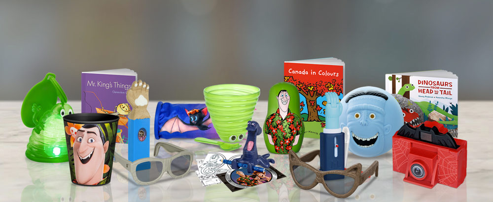 Hotel Transylvania Fans Take Notice McDonalds Canada Has Just Launched A New Set Of Happy Meal Toys To Coincide With The Launch 3