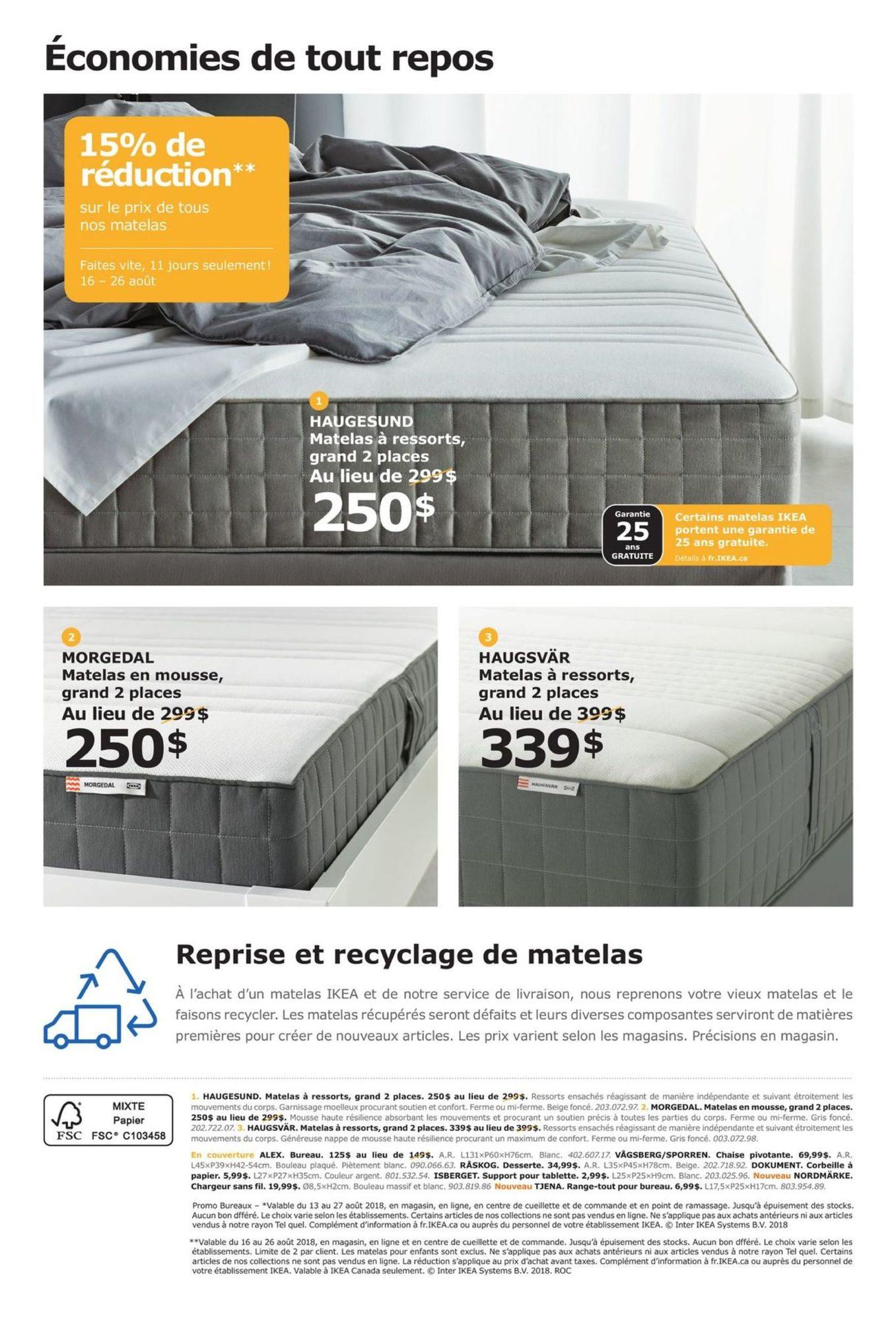 Promo La Rentrée Ikea 13 Août 2018 Pj Shopwise