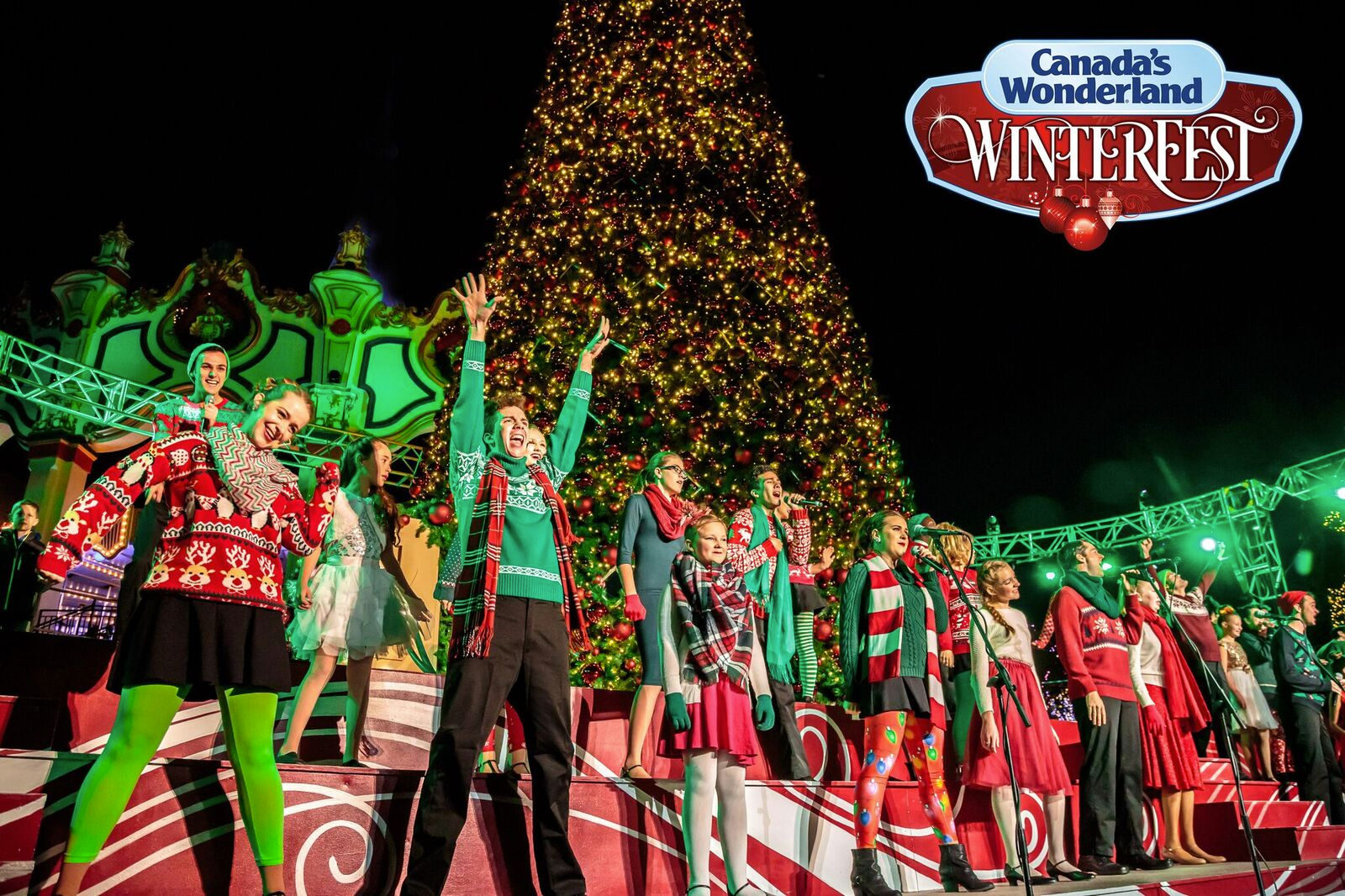 Christmas In Canada South Park.Canada S Wonderland Announces Winterfest And A New 245 Drop