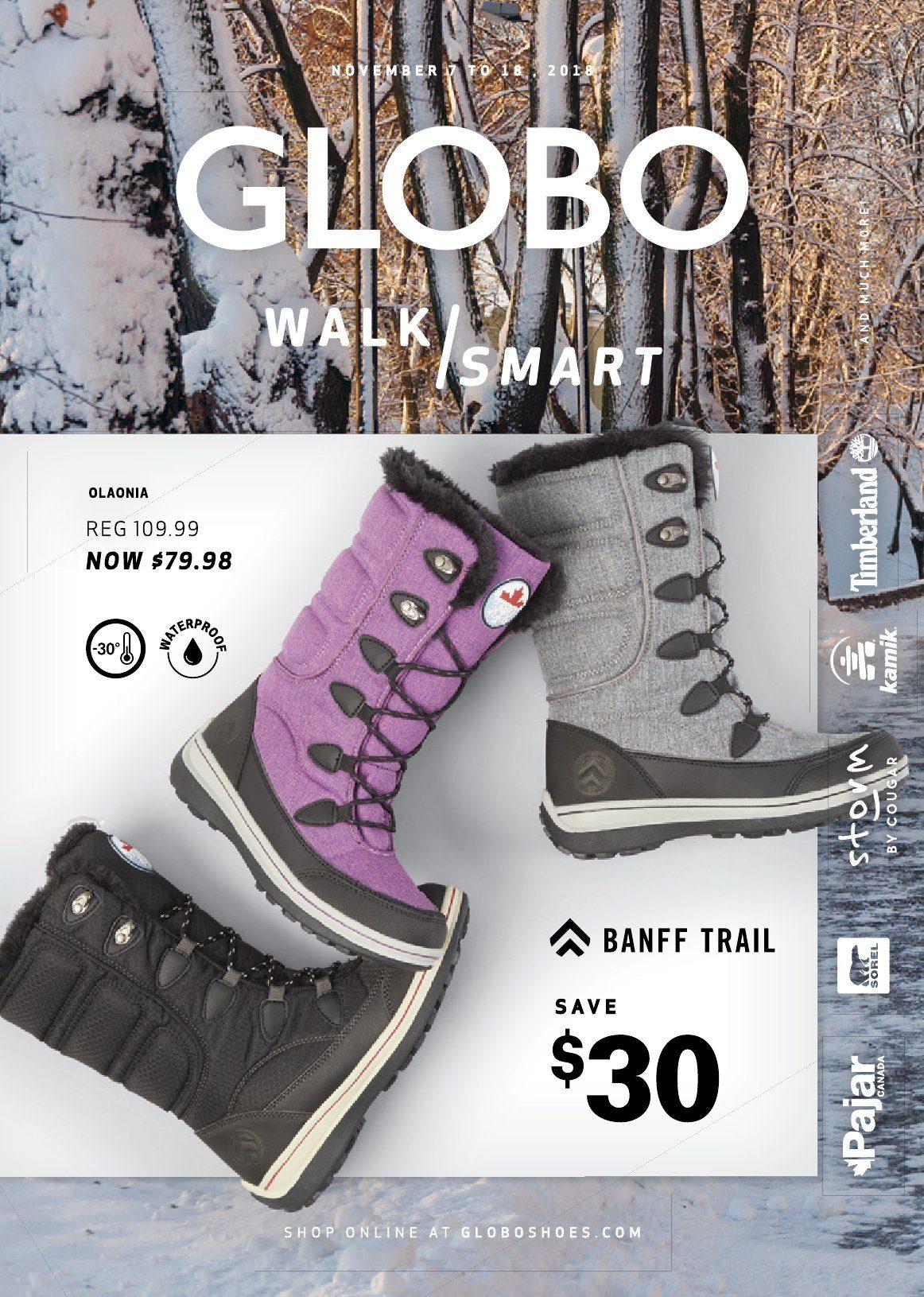 Walk Smart - Globo Shoes November