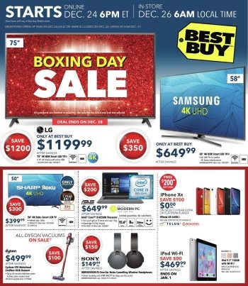 Best Buy Buys Boxing Day 2018 Flyer Is Up On RFD
