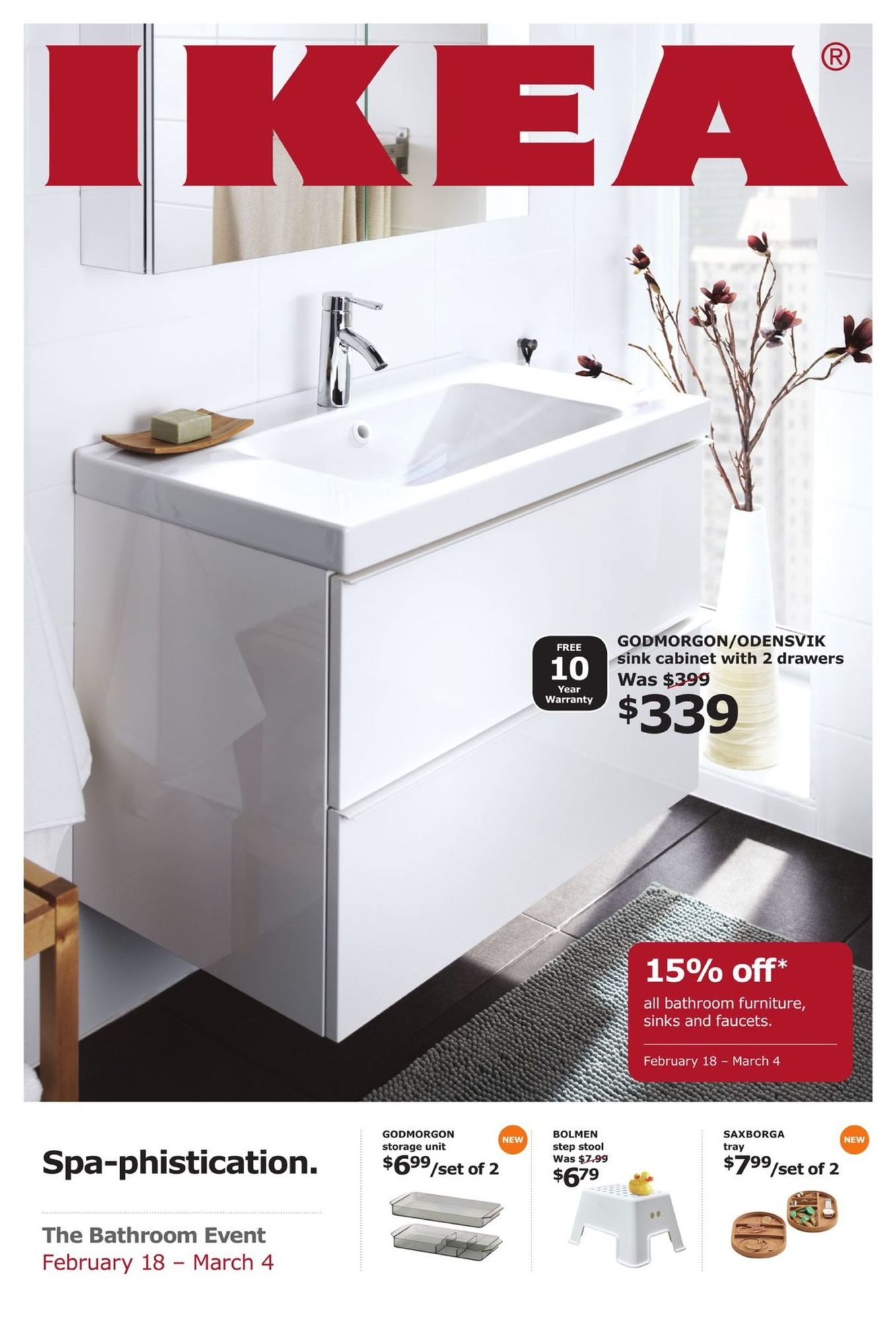 The Bathroom Event - IKEA February 9 209  YP Shopwise