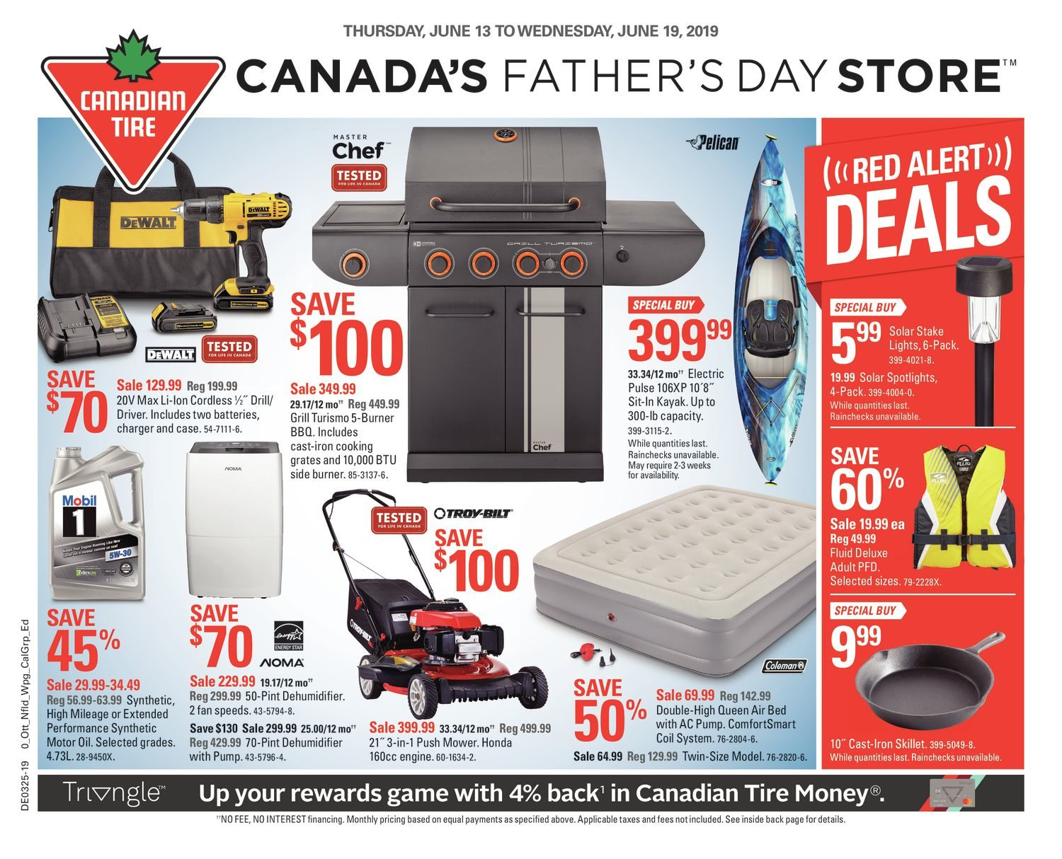Weekly - Canada's Father's Day Store - Canadian Tire June 12 2019