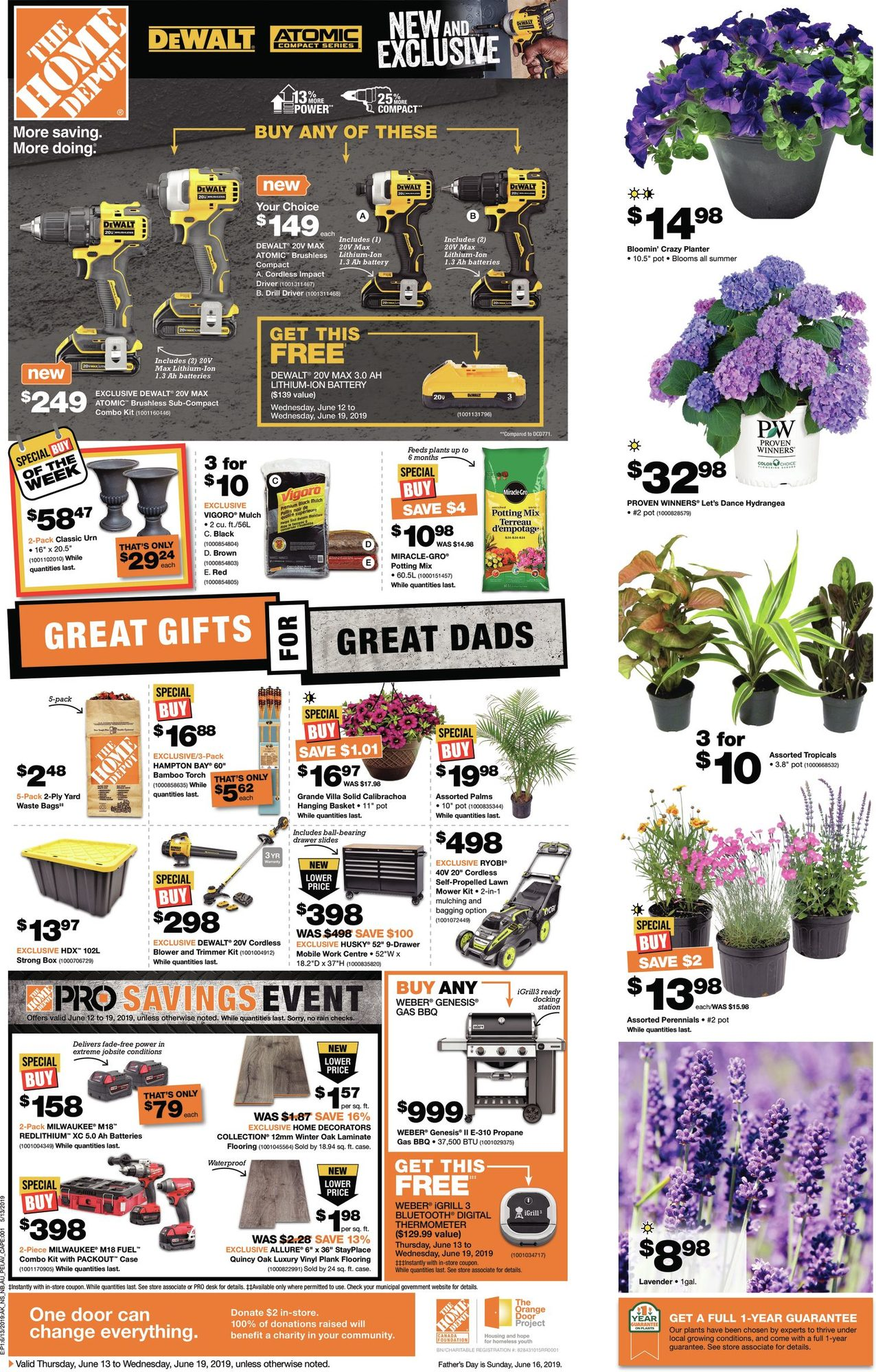 Weekly - Great Gifts for Great Dads - Home Depot June 13