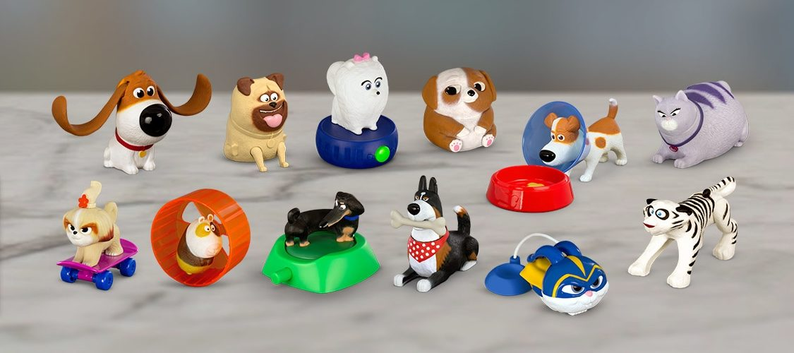 The Secret Life of Pets 2 Happy Meal Toys Have Just Arrived
