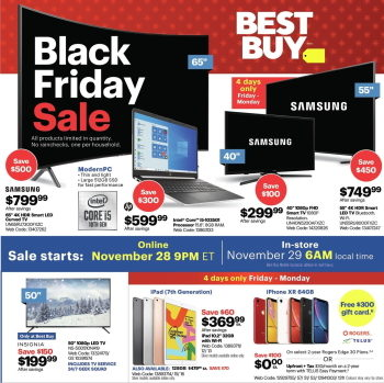 Best Buy S Black Friday 2019 Sale Is Live Redflagdeals Com Forums