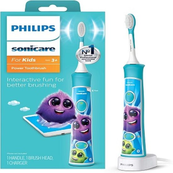 3. Best for Kids: Philips Sonicare Rechargeable Electric Toothbrush