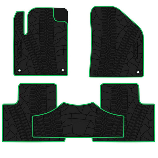 5. Best Looking: San Auto Car Floor Mats