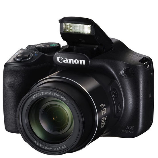 5. Best Compact Camera: Canon PowerShot SX540