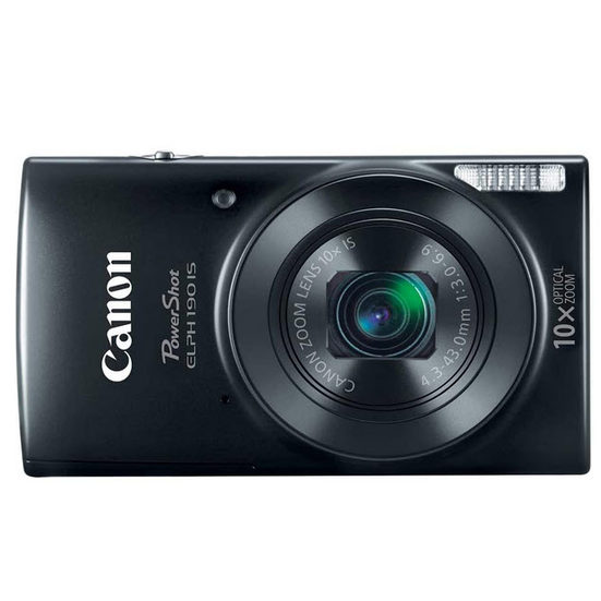 6. Best for Families: Canon PowerShot ELPH 190 Digital Camera