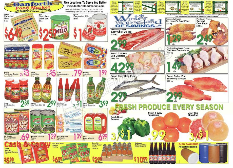 Danforth Food Market Weekly Flyer