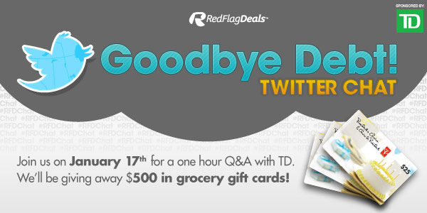 Join #RFDChat On Jan 17, 2013 & Learn How To Tackle Your Holiday Debt!