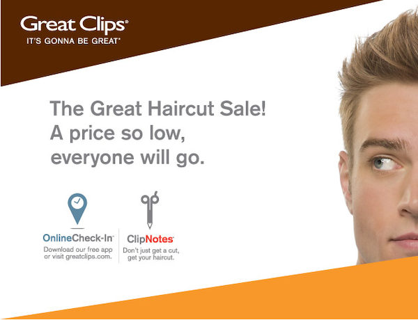 when is great clips haircut sale great 6 99 great haircut ontario only 2732 | 600x600 smart fit