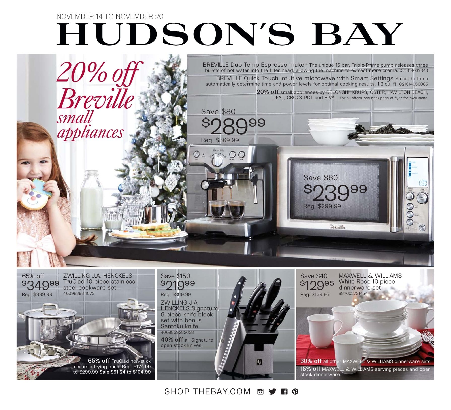 Loblaws Christmas Decorations: The Bay Weekly Flyer