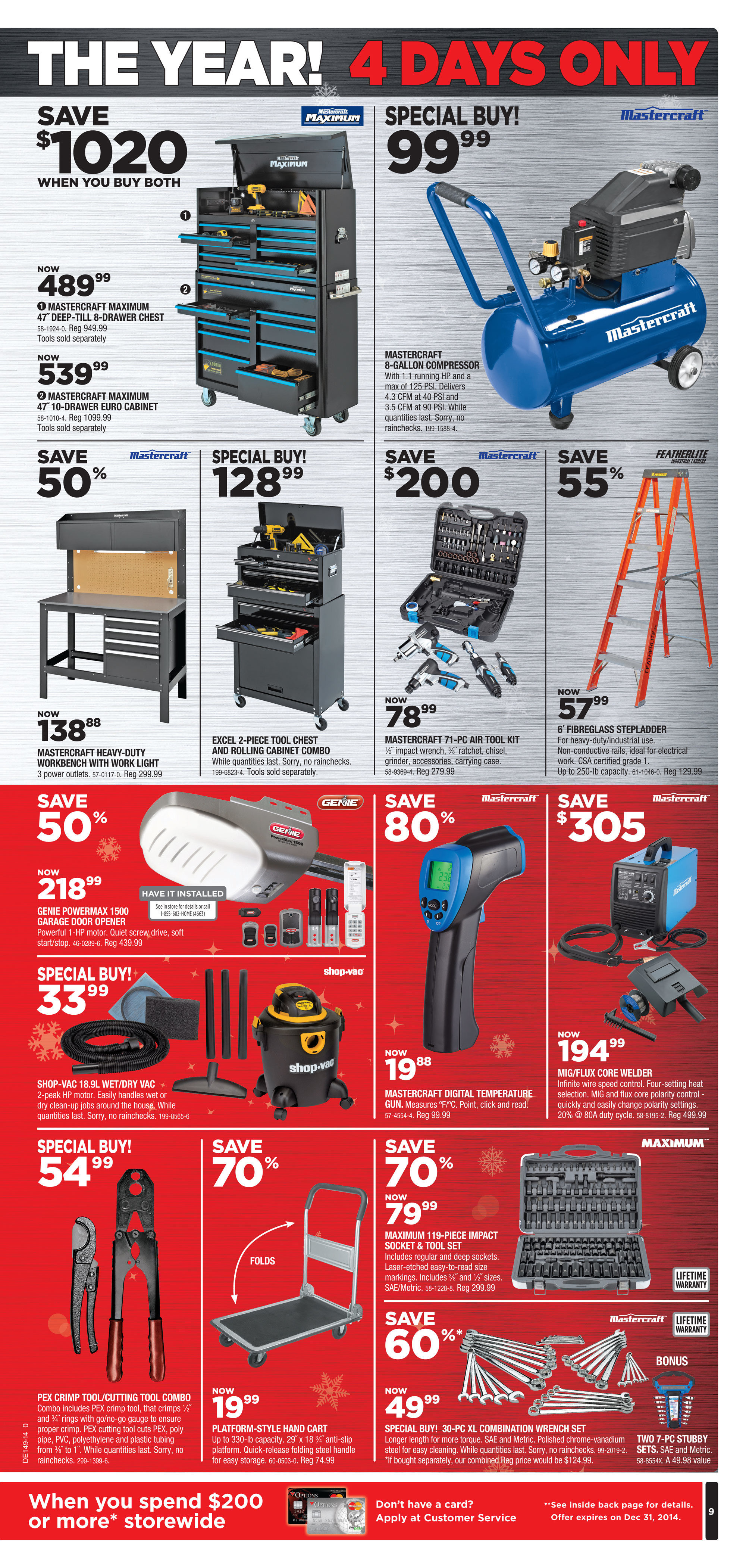 Canadian Tire Weekly Flyer Black Friday Nov 27 30
