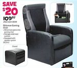 Toys R Us Ottoman Gaming Chair Black W Express 2 0 Audio