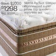 The Bay Serta Perfect Sleeper Wynnewood Super Pillow Top