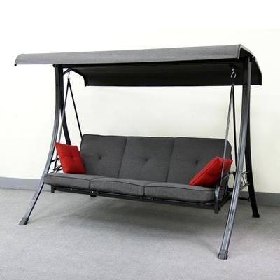 Hampton Bay 3 Person Futon Swing