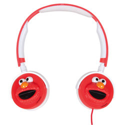 Dreamgear 3D Elmo On-Ear Headphones