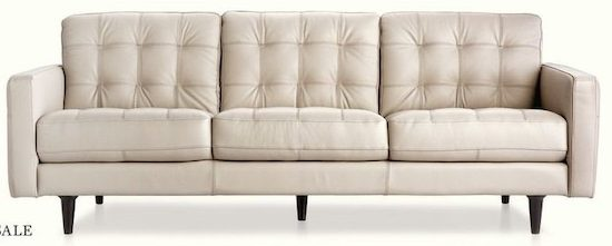 Chateau d'Ax Marano Leather Sofa - 4 Days Only - Chateau D'Ax Marano Leather Sofa - 4 Days Only YP.ca