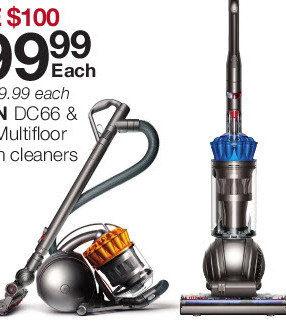 Dyson Dc66 Amp Dc37 Multifloor Vacuum Cleaners Yp Ca