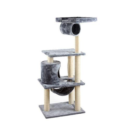 arbre pour chats 62x46x146cm. Black Bedroom Furniture Sets. Home Design Ideas
