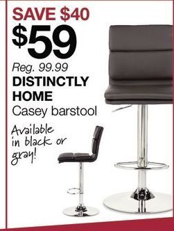 Distinctly Home Casey Bar Stool Yp Ca