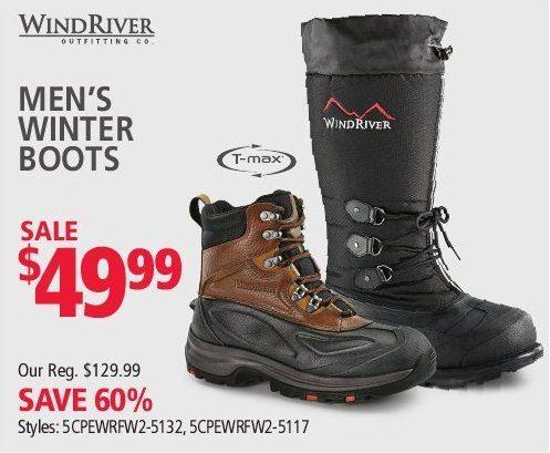 WindRiver Men's Winter Boots | YP.ca