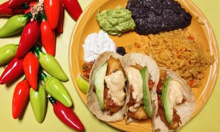 $14 for $25 Worth of Mexican Food at Three Amigos