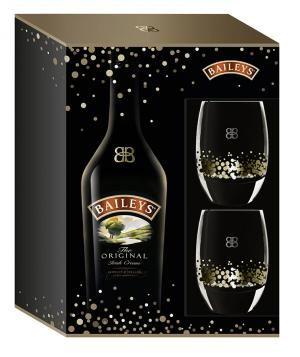 Baileys - Original Irish Cream With 2 Glasses Gift Set | YP.ca