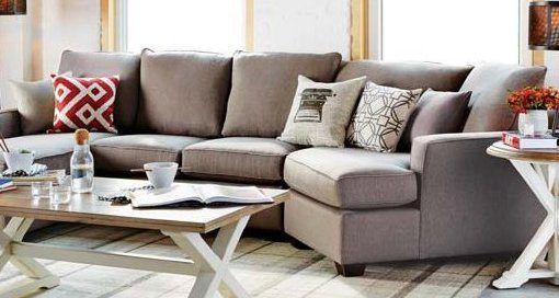 """Camden 150"""" Sectional Chaise Cuddler Sofa 