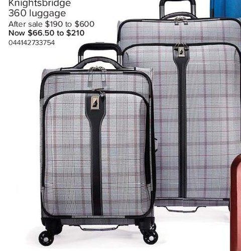 london fog 360 luggage - London Fog Luggage