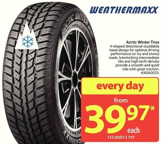 Best All Weather Tires >> Weathermaxx Arctic Winter Tires | YP.ca