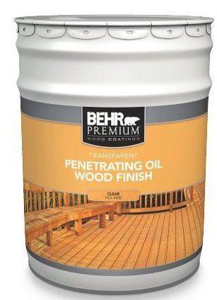 Behr Premium Transpa Penetrating Oil Wood Finish