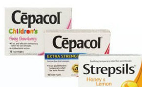 Cepacol Children's, Sensations Or Extra Strength Lozenges